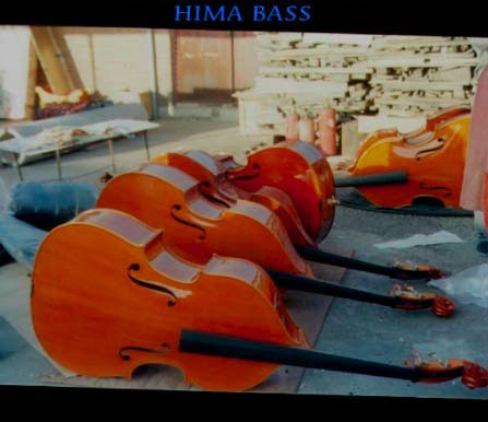 Picture of double bass (contrabass) - HIMA Double Basses, China