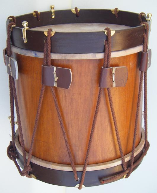 Picture of snare drum - Marching drum Snare drum Civil war Drum Rope Drum