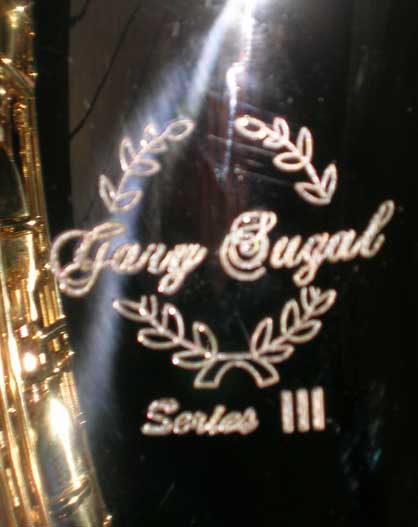 Picture of saxophone - Gary SUGAL tenor copper sax NEW