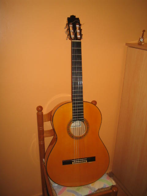 Picture of acoustic guitar - francisco barba 1995