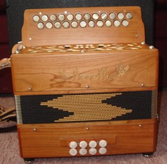 Picture of accordion - Saltarelle Irish B/C Button Accordion