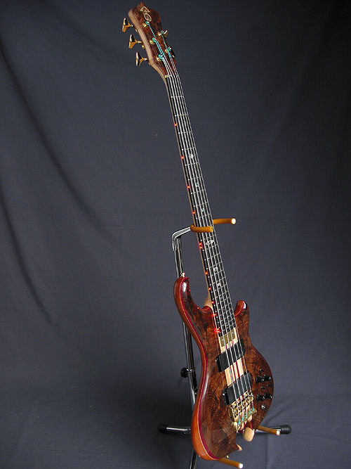 Picture of bass guitar - Alembic Mark King  USED good condition