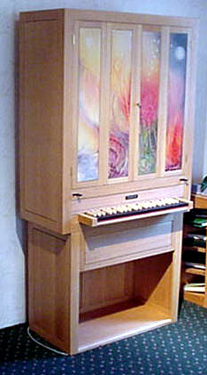 Picture of organ - Positiv Tracker Organ