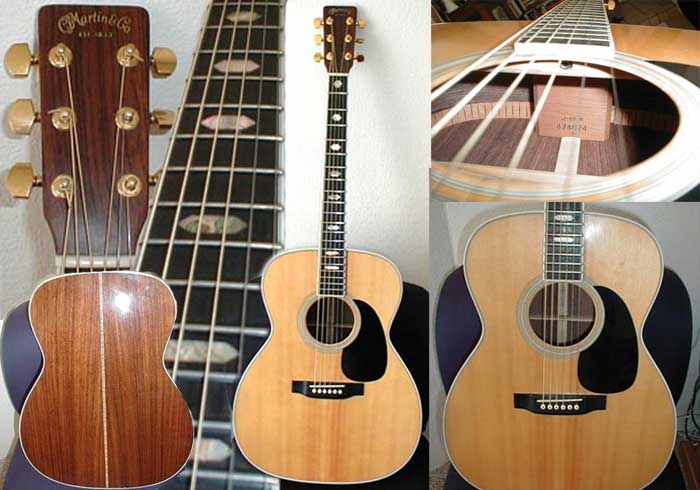Picture of acoustic guitar - 1986 Martin J-40M w/hsc