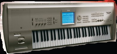 Picture of electronic keyboard instrument - Triton Studio 88-key
