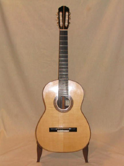 Picture of acoustic guitar - 2003 Eric Monrad Spruce Classical