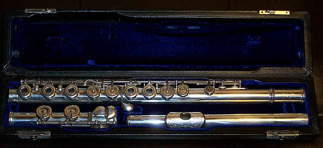 Picture of flute - Powell Custom Handmade Silver Flute #6118