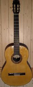 Picture of acoustic guitar - Manuel Romero