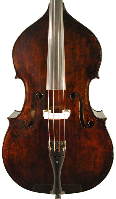 Picture of double bass (contrabass) - German Double Bass 1800 made3/4