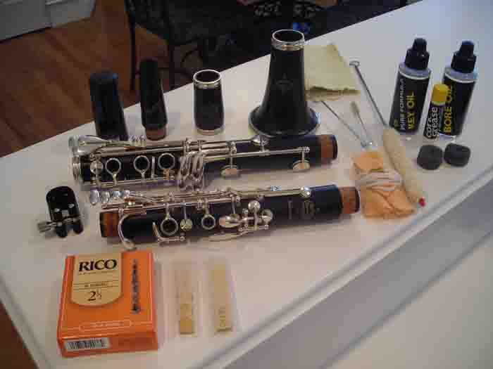 Picture of clarinet - C13 Int'l Buffet Wood Bb Clarinet - MINT CONDITION