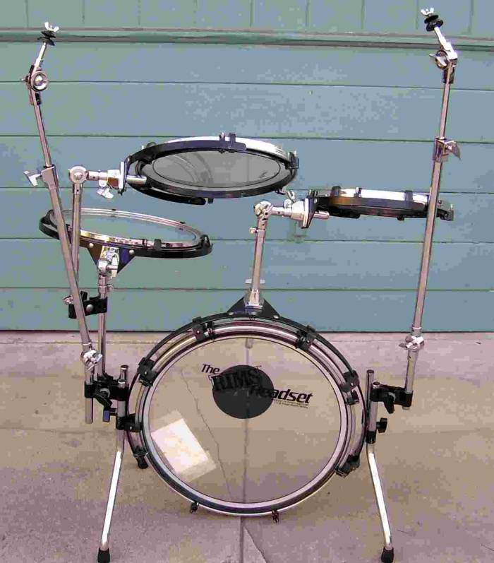 Picture of drum kit - RIMS Headset