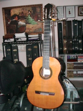 Picture of acoustic guitar - FLAMENCO CLASSICAL GUITARS