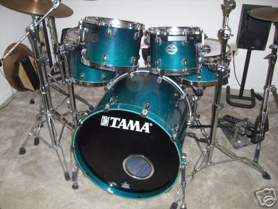 Picture of drum kit - REDUCED!  MUST SELL! TAMA Starclassic 5pc Maple Kit