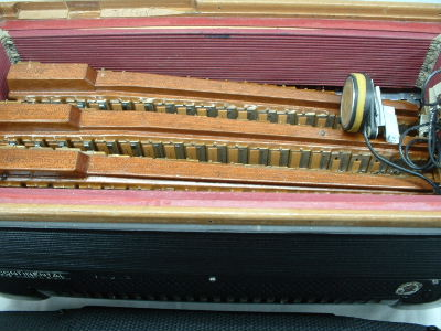 Picture of accordion - Giulietti Super Continental Chromatic Accordion
