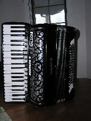Picture of accordion - Giulietti Artist V with MIDI