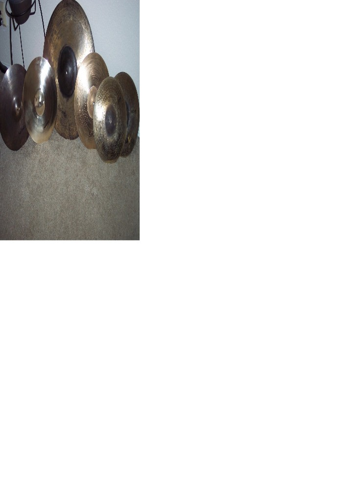 Picture of cymbal - New Saluda cymbals for sale