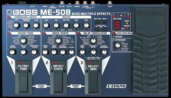 Picture of effect - boss me-50b bass effects