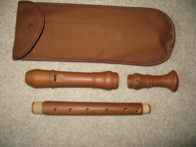 Picture of recorder (woodwind instrument) - Huber Model II Alto - Swisse Recorder
