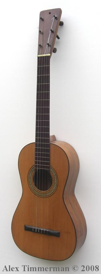 picture of acoustic guitar a 19th century guitar by juan perfumo. Black Bedroom Furniture Sets. Home Design Ideas
