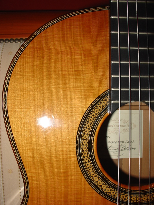 Picture of acoustic guitar - -Manuel Contreras II doble tapa (Rio)- 1997
