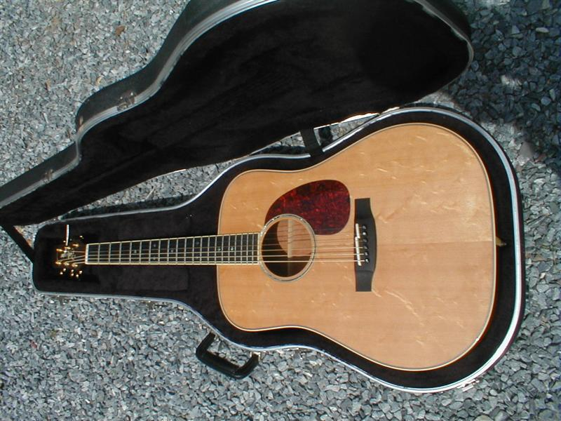 Picture of acoustic guitar - Takamine NV340S Full body Nashville series acoustic guitar