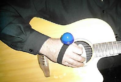 Picture of acoustic guitar - The Strum Shaker