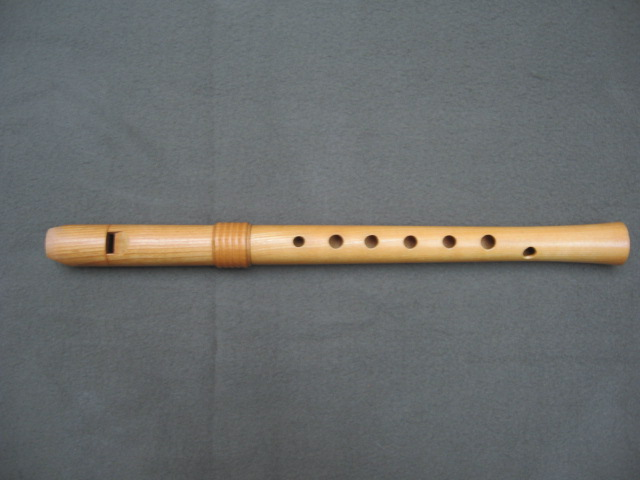 Picture of recorder (woodwind instrument) - ganassi soprano by Blezinger