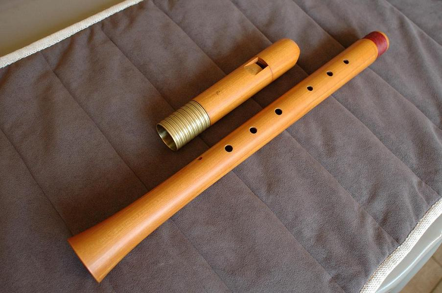 Picture of recorder (woodwind instrument) - Adrian Brown Bassano Tenor 440
