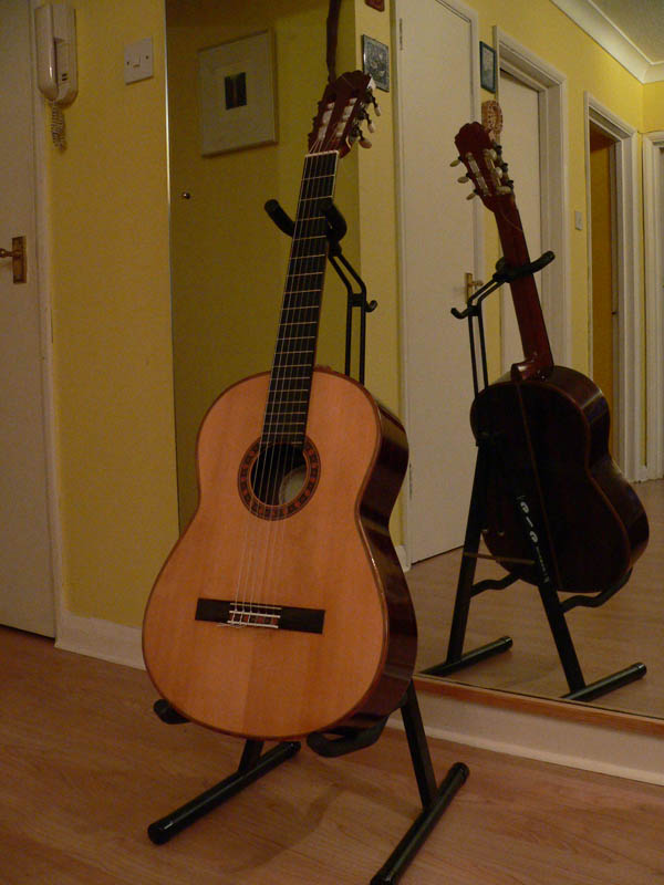 Picture of acoustic guitar - 1990 Paul Fischer for sale