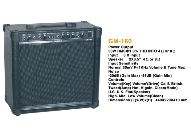 Picture of amplifier - TS GM-160