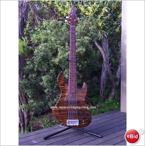 Picture of bass guitar - BACCHUS IMPRESSION 35-5 Bass