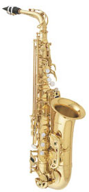 Picture of saxophone - NEW!! Antigua Winds Alto (Student) Saxophone Model A500-LQ New Case Included