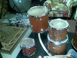 Picture of drum kit - Tama Drumset - Custom Shells (one of a kind) negotiable!!!!