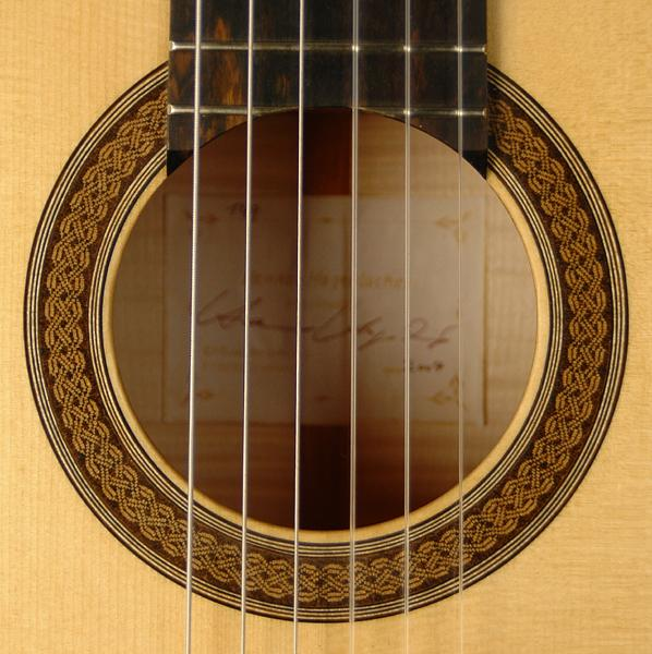 Picture of acoustic guitar - Henner Hagenlocher concert classical guitar