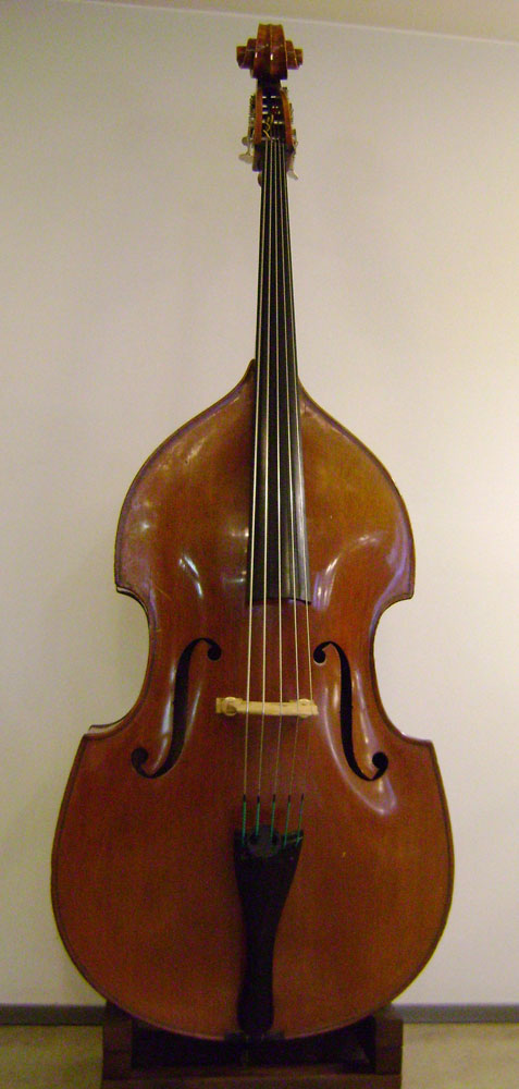 Picture of double bass (contrabass) - JOHANNES RUBNER 7/8 SIZE 5 STRING DOUBLE BASS