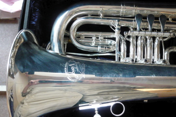 Picture of brass instrument - Fiscorn Voigt