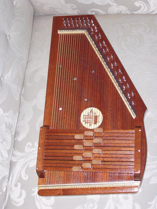 Picture of autoharp - hand made D/G
