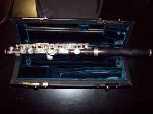 Picture of piccolo - Burkart & Phelan Wood Piccolo