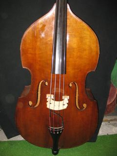 Picture of double bass (contrabass) - HEROLD JAEGER DOUBLE BASS