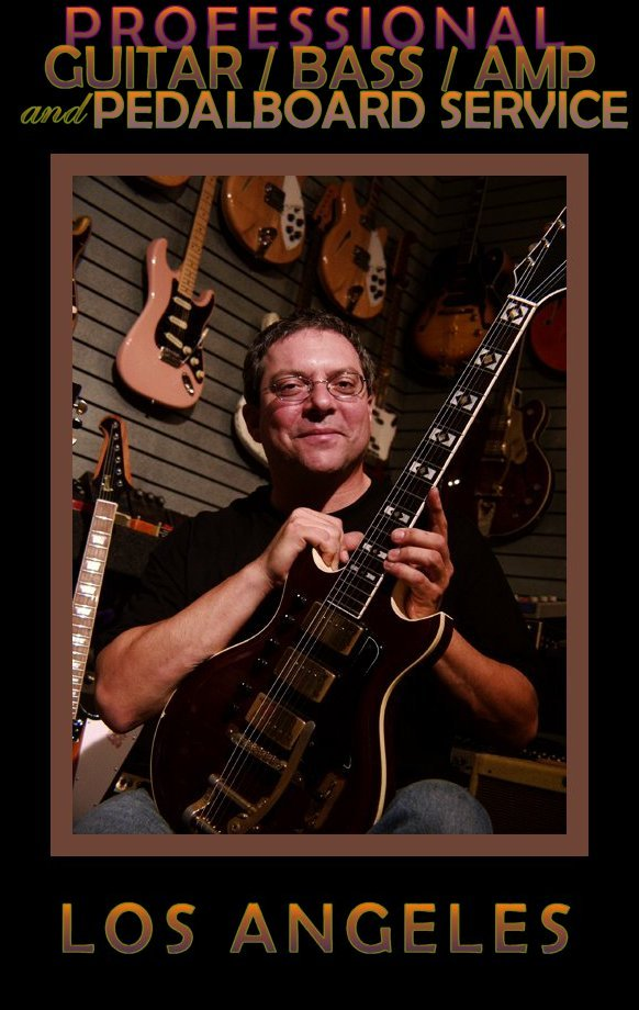 Picture of musician service - Los Angeles Guitar, Bass and Amplifier Repair with Andy Brauer