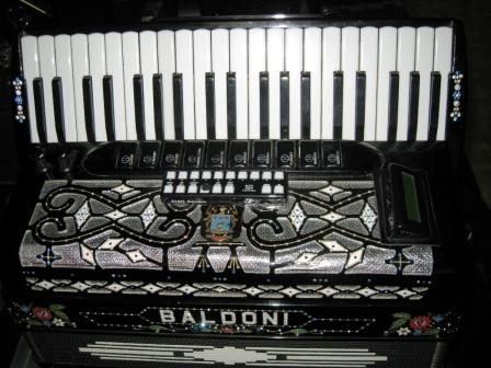 Picture of accordion - BALDONI  JAZZ I  ACCORDION(ACOUSTIC/MIDI)