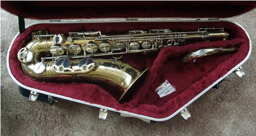 Picture of saxophone - VINTAGE SELMER MK6 TENOR SAXOPHONE 1969