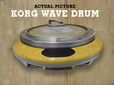 Picture of electronic instrument - Korg Wave Drm