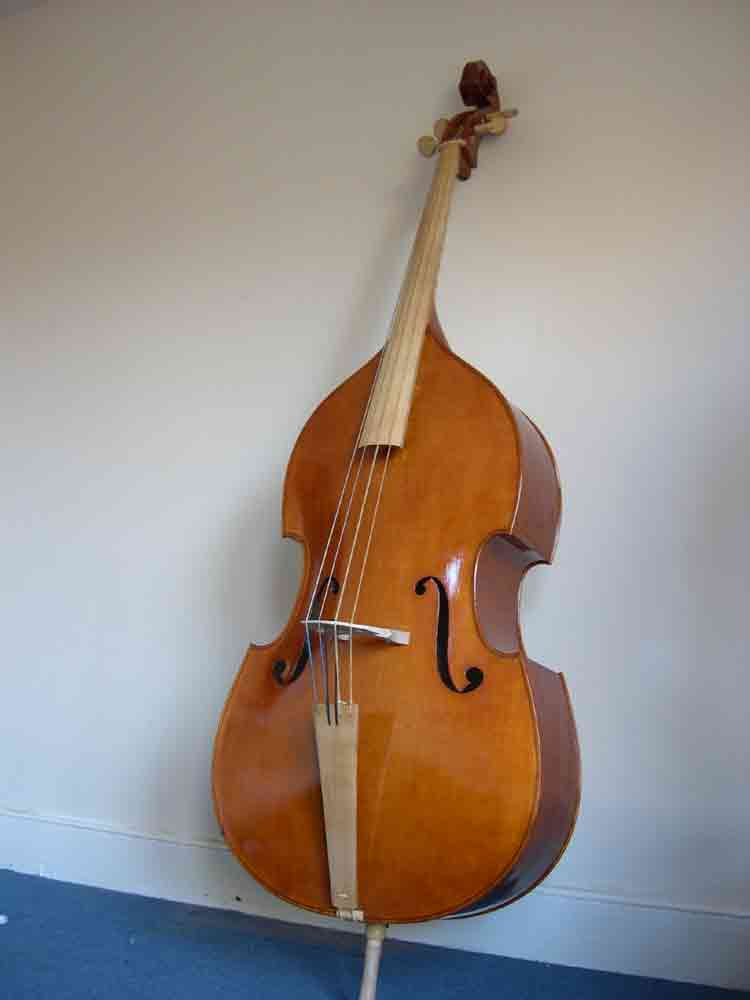 Picture of double bass (contrabass) - Baroque Double Bass