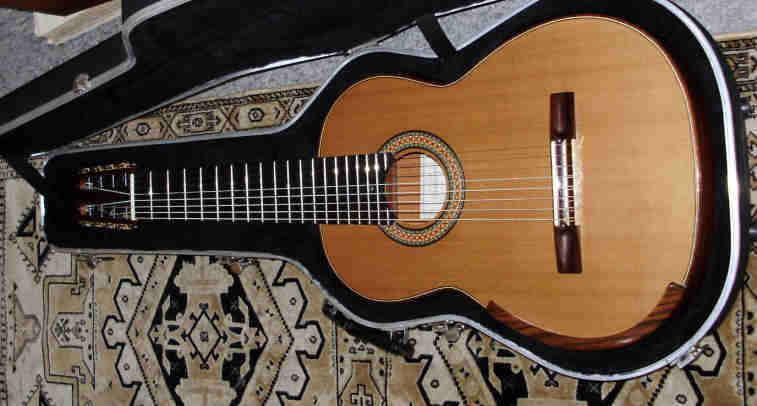 Picture of acoustic guitar - 8 string David Schramm/ Smallman