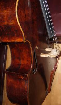 Picture of double bass (contrabass) - italian doublebass