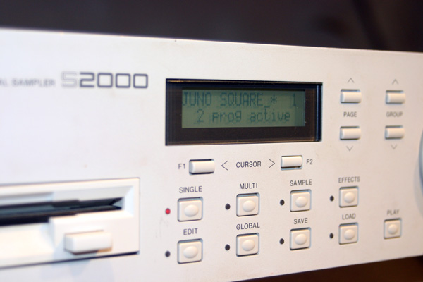 Picture of sampler - Akai S2000 Sampler