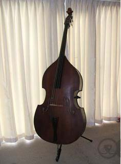 Picture of double bass (contrabass) - Solid 3/4 double bass