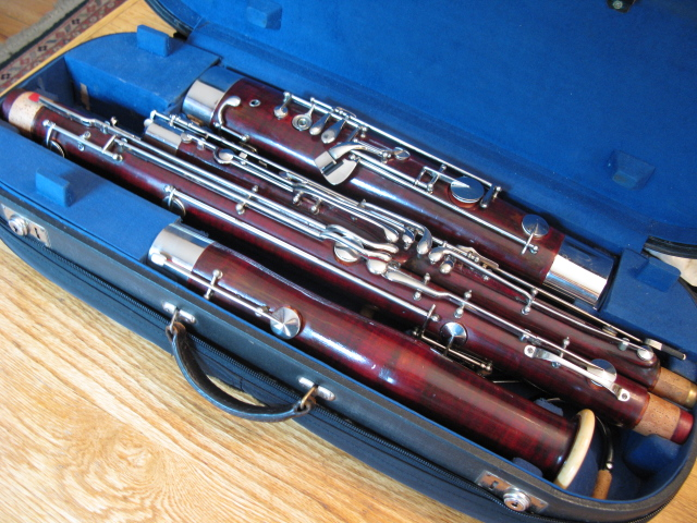 Picture of bassoon - Heckel #5804 - True Heckel Sound