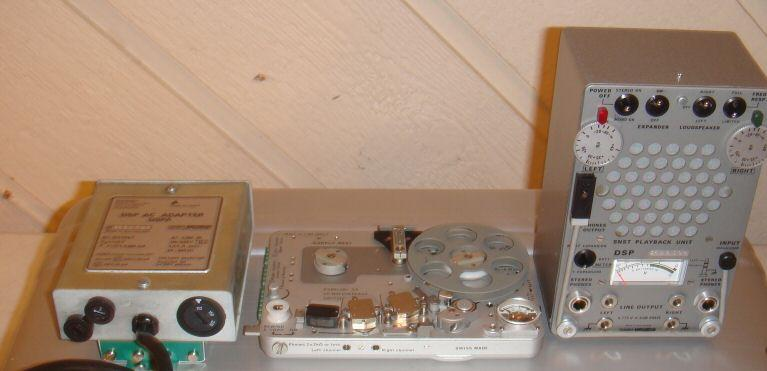Picture of recording gear - Kudelski NAGRA SN reel to reel SNST Stereo MINT w DSP